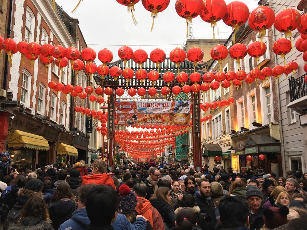 china town london chinese new year